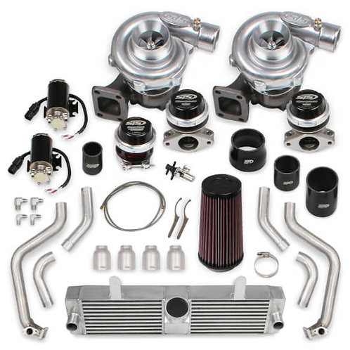 STS Turbo C6 LS3 Remote Mounted Twin Turbo System w/out Hand-Held