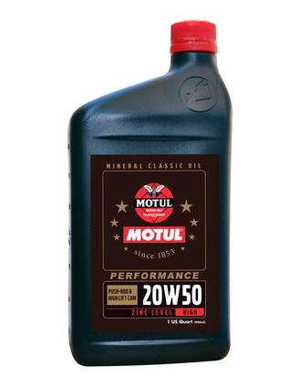MOTUL Classic Performance 20W50 Engine Oil