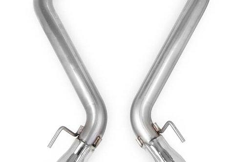 2010-2013 Camaro SS Hooker BlackHeart Axle-Back Exhaust W/O MUFF.