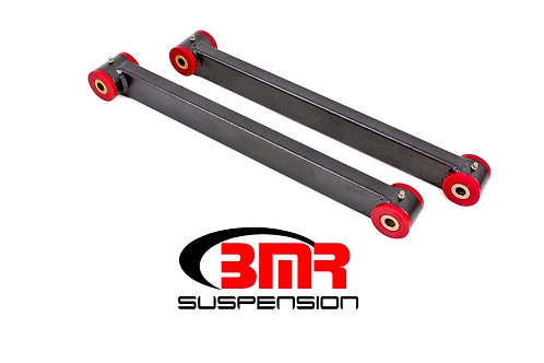 Lower control arms, boxed, non-adj, poly bushings