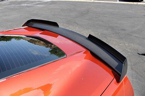 APR Rear Spoiler Track Pack W/O APR Wickerbill, Carbon Fiber Spoiler