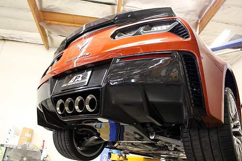 Corvette Carbon Fiber Rear Diffuser