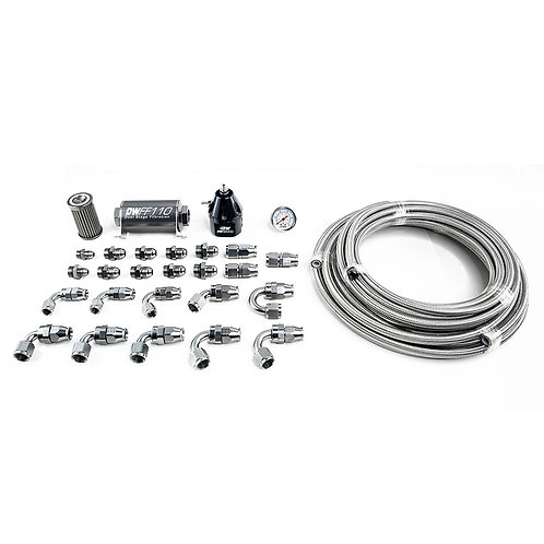 X2 Series Pump Module -8AN PTFE Plumbing Kit for 2011-19 Ford Mustang
