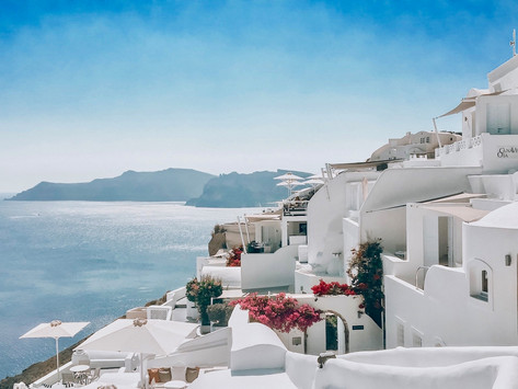 September in Santorini