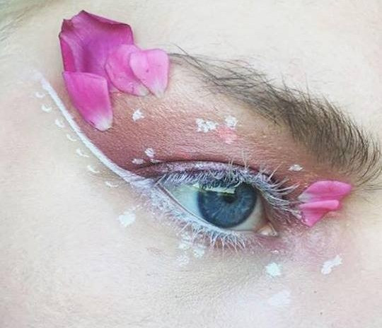 Eye With Petals