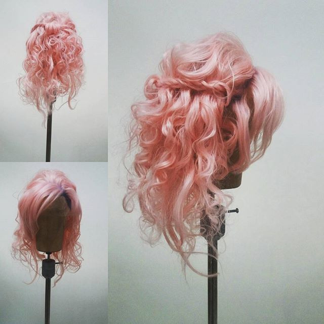 Hand Knotted Hippie Chic Wig