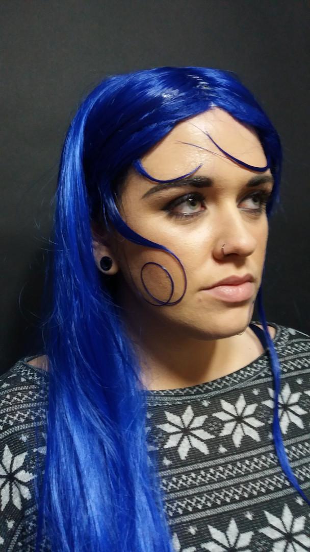 Ocean Themed Wig