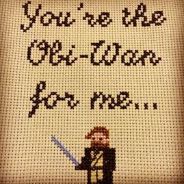 Obi-Wan. XStitch
