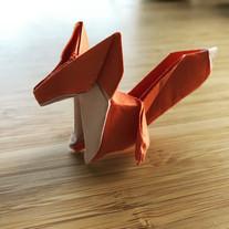 Fox. Paper