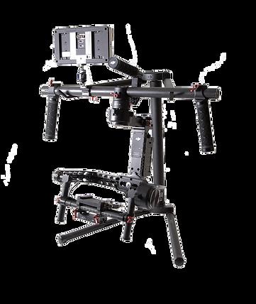 DJI Ronin 3 axis gimbal camera stabilizer