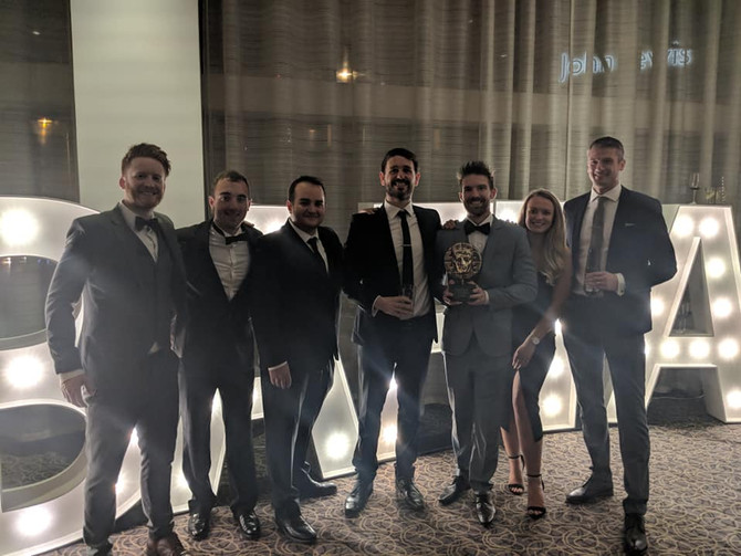 CIC wins a BAFTA Cymru! | CIC yn ennill BAFTA Cymru!