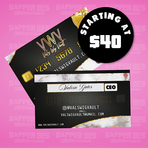 Business Card (Design Only)