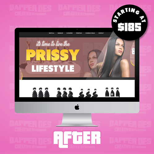 Website Revamp (Shopify and Wix)
