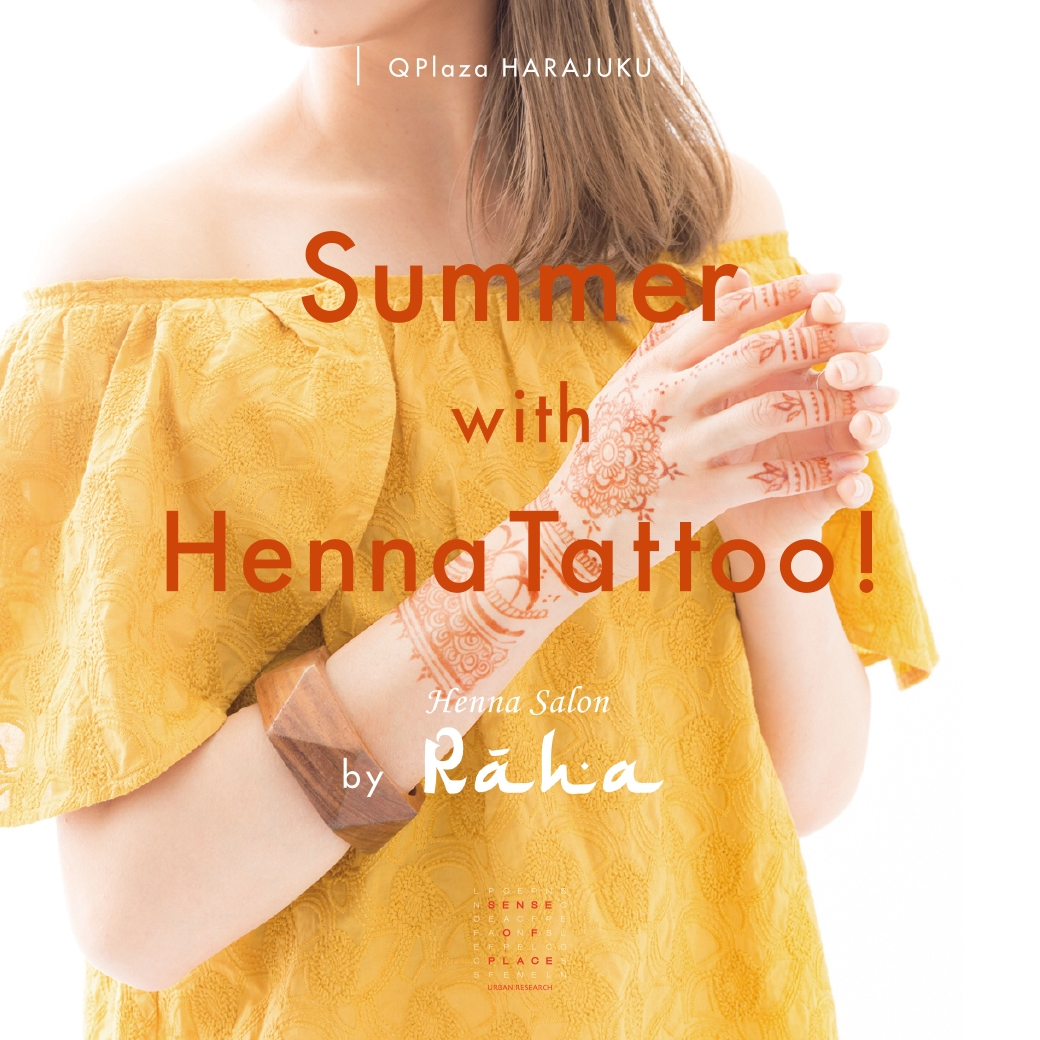 Summer with Henna Tattoo!