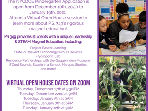 Applying to Kindergarten? Attend a Virtual Open House Session!