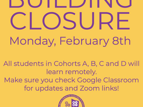 Building Closure 2/8