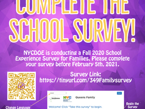Complete the School Survey!