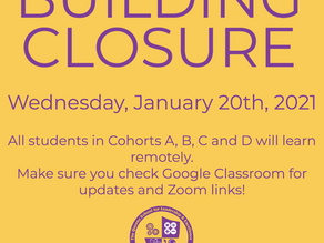 Building Closure 1/20/21
