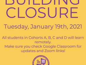 Building Closure 1/19/21