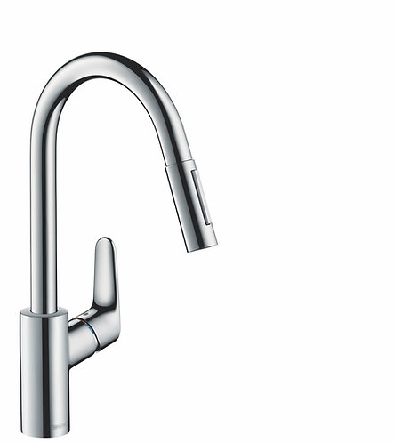 HANSGROHE DECOR KITCHEN MIXER PULL-OUT CHROME