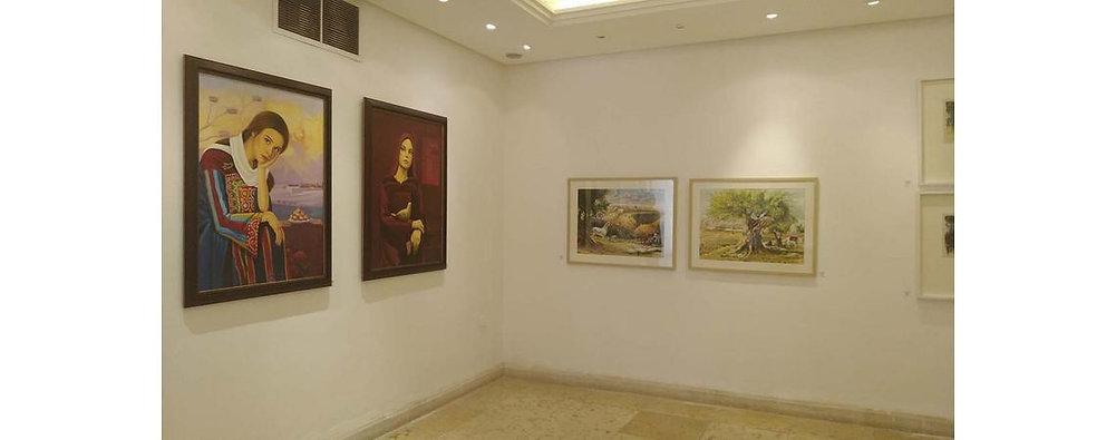"""معرض جماعي بعنوان """"القدس بوابة الأرض إلى السماء"""" بالعاصمة الأردنية عمان"""