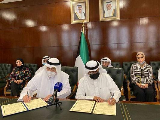 مذكرة تعاون بين «الوطني للثقافة» و«الكاريكاتير» الكويتية