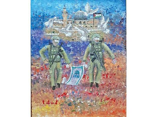 فنانون كويتيون يشاركون في معرض «القدس هويتنا»