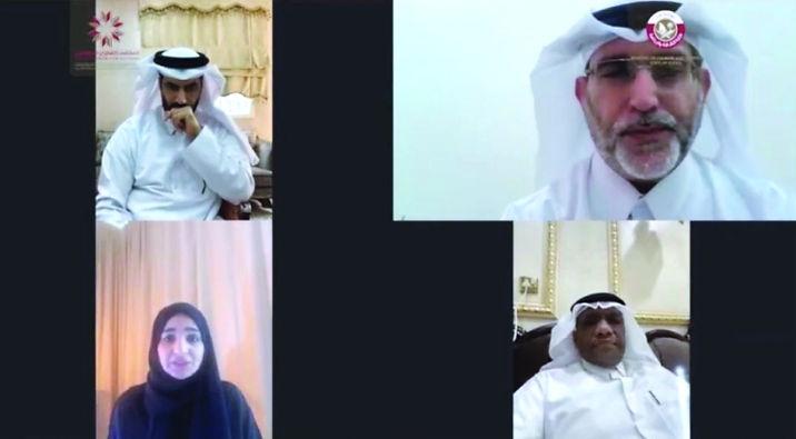 الملتقى القطري للمؤلفين يناقش دور المثقفين في التوعية باحترازات العودة للحياة الطبيعي