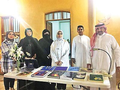 """بيت الخزف الكويتي ينظم فعالية بعنوان """"كتاب منك وكتاب مني"""" عززت التبادل الفكري"""