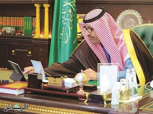 أمير الباحة يدشن معرض المخواة الأول للكتاب