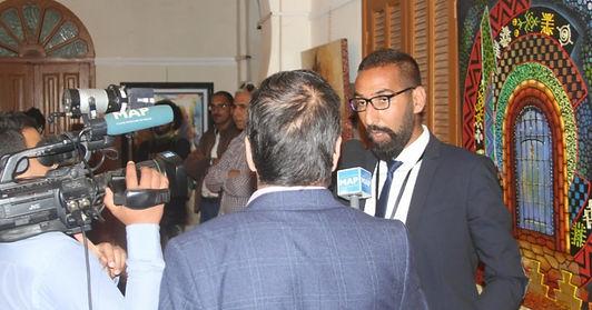 افتتاح النسخة الأولى لمهرجان الفنون التشكيلية في المغرب