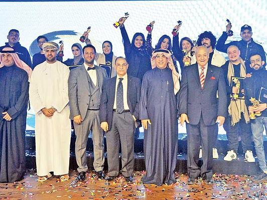 «المسرح الأكاديمي» يكرم الفائزين بجوائز دورته التاسعة