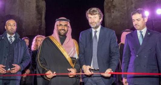 """السعودية تفتتح معرض """"روائع المملكة"""" فى إيطاليا"""