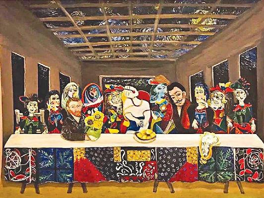 سعود الفرج : 50 فنانة شاركن في معرض نقابة الفنانين والإعلاميين
