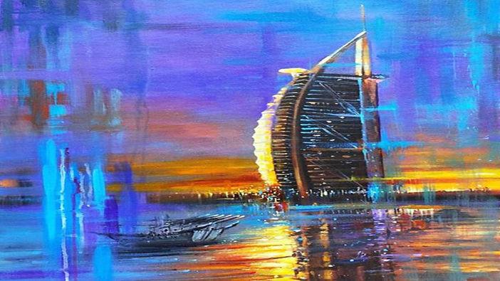 247 عملاً فنياً في معرض «صيفنا أحلى»
