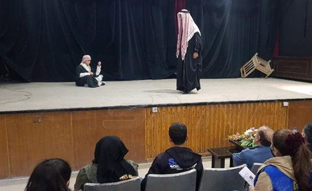"""""""مهرجان الحسكة المسرحي"""" بسوريا يختتم فعالياته"""