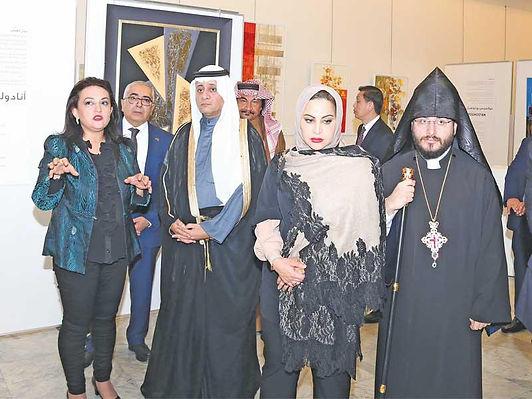 100 عمل لـ 17 فناناً في معرض الفن الأرمني المعاصر  في الكويت