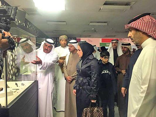 افتتاح معرض آثار دول مجلس التعاون لدول الخليج العربية في الكويت