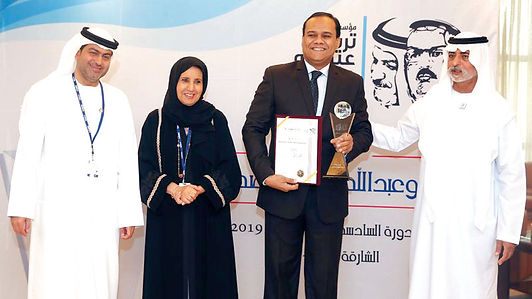 تكريم الفائزين بجائزة تريم وعبدالله عمران الصحافية في الإمارات