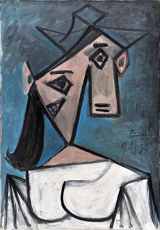 العثور على لوحتين لبيكاسو وموندريان سُرقتا من متحف يوناني عام 2012