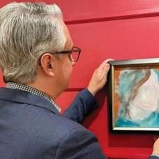لوحة ديفيد بوي المشتراة بـ 4 دولارات تباع بـ 88 ألفاً
