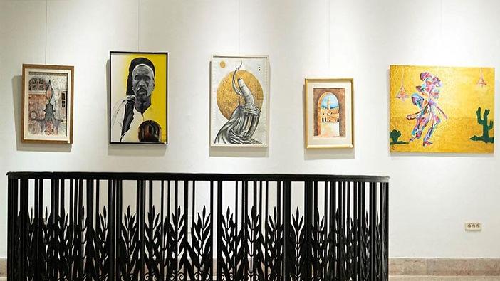 افتتاح معرض المعالم الأثرية التشكيلي في تونس