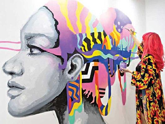 معرض فنون العالم في دبي ينطلق الأربعاء