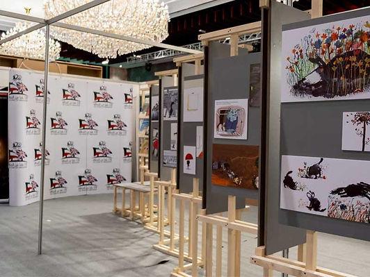 معرض «الرسم بالكلمات» للمجلس الثقافي البريطاني بالتعاون مع المجلس الوطني