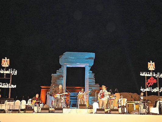 وزارة الثقافة المصرية تفتتح مهرجان للموسيقى العربية جنوب مصر