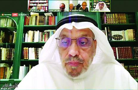 انطلاق جلسات مؤتمر (المنجز العربي اللغوي والأدبي في الدراسات الأجنبية)