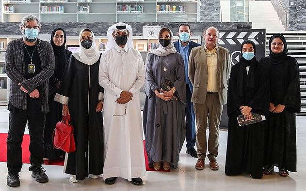 افتتاح المعرض الرقمي لفن ملصقات السينما العربية في مكتبة قطر الوطنية