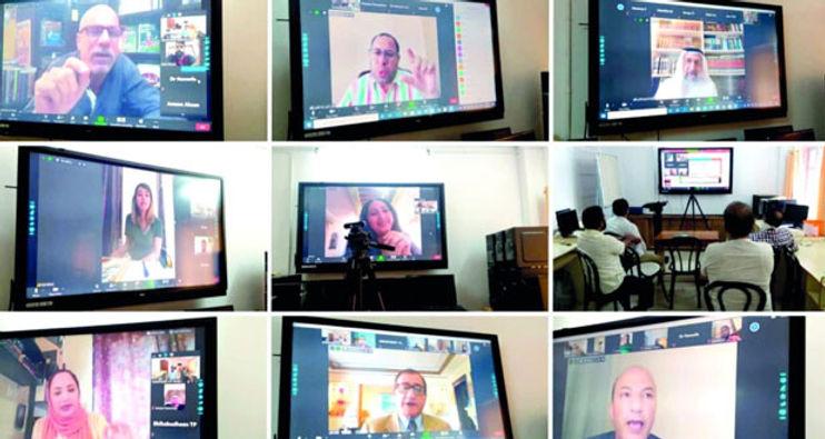 ندوة افتراضية حول اللغة العربية بجامعة كاليكوت بالهند