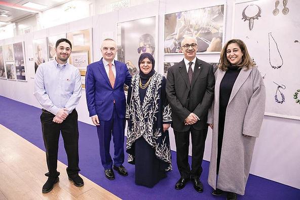 افتتاح معرض «الأيادي الذهبية في دولة الكويت وجمهورية ألبانيا»