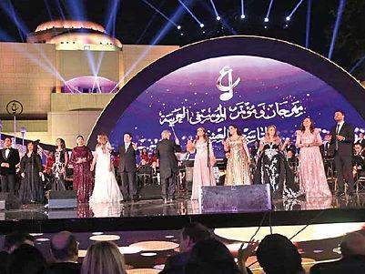 «الموسيقى العربية» يكرم 12 شخصية غنائية ملهمة